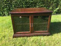 Oak TV /media stand/cupboard by Legate