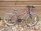 Falcon mont blanc ladies bike, 26 in wheels, 18 gears, 17 in frame all gears and brakes