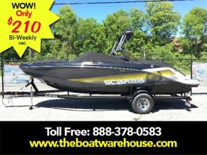 2018 Scarab 215 Impulse Wake Twin 200HP Rotax Trailer Wake ...