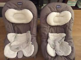 2 Chicco baby bouncers