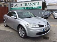 Renault Megane 2.0 VVT Dynamique Proactive 2dr£2,795 p/x welcome FREE WARRANTY. NEW MOT