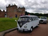 vw splitscreen campervan 1969 weddings proms