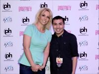 BRITNEY SPEARS Meet and Greet Upgrade Package For Birmingham