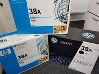 3 x New boxed original HP Laserjet 38A Q1338A cartridge