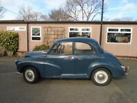 1965 Morris Minor 1000 for Spares or Repair