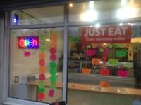 Takeaway Premises lease and business for sale