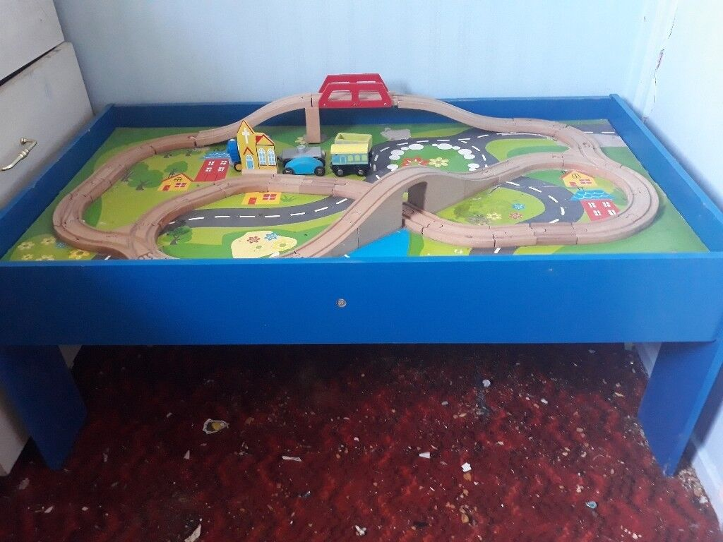 Chad valley train table & trains | in Plymouth, Devon | Gumtree