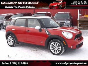 2013 MINI Cooper S Countryman ALL WHEEL DRIVE/DUAL-ROOF/LEATHER