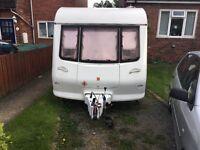 Eldis avante 2 berth 2001 touring caravan