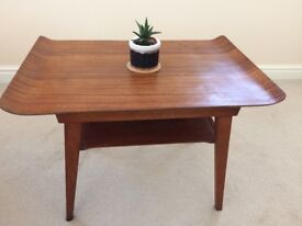 Sled End Danish Style 1960's Teak Coffee Table