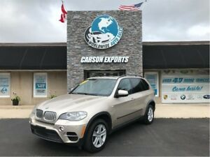 2012 BMW X5 CLEAN DIESEL! FINANCING AVAILABLE!