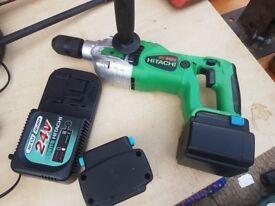 hitachi 24v drill