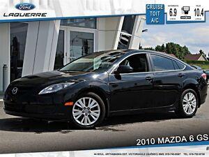 2010 Mazda MAZDA6 **GS*MANUELLE*TOIT*CRUISE*A/C*