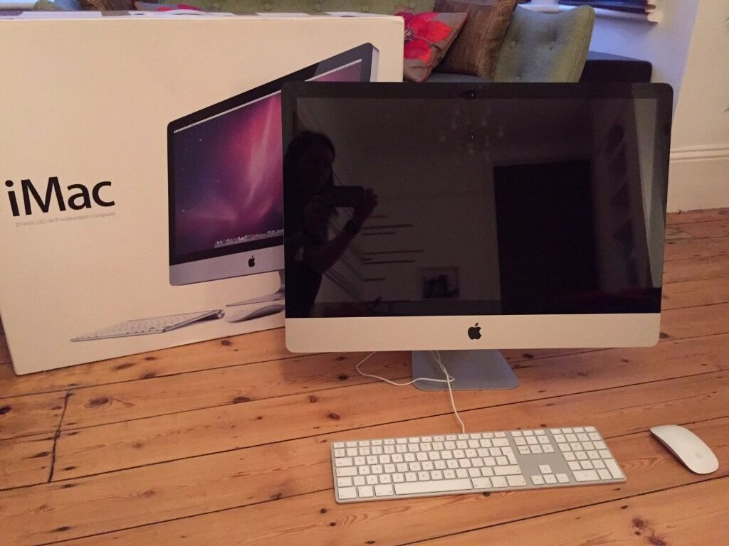 iMac 27 inch with keyboard and magic mouse; 3.4GHz Quad Core Intel Core i7; 16GB 1333MHz DDR3; 1TBin Brighton, East SussexGumtree - 27 inch iMac (mid 2011) 3.4GHz Quad Core Intel Core i7 16GB 1333MHz DDR3 SDRAM 1TB Serial ATA Drive AMD Radeon HD 6970M 2GB GDDR5 Apple Magic Mouse Apple Keyboard with Numeric Keypad (British) & Users Guide (English) iMac has been serviced, restored...