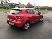 2015 Renault CLIO, Sat Nav, 16,531 mileage, Parking Aid, Full Service history, 5 dr