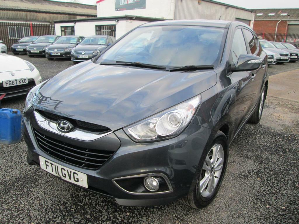 Hyundai ix35 2.0 CRDi STYLE 5dr 4WD + 1 OWNER FROM NEW + FULLY SERVICED +