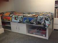 Children's single storage bed by Argos