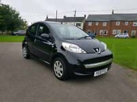 2010 PEUGEOT 107 1.0, LOW MILES, LONG MOT