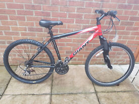 19 inch FRAME GIANT ROCK MOUNTAIN BIKE - RECENT REFURB WITH NEW PARTS