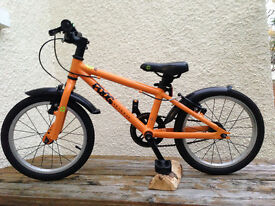 Frog 48 - Childrens/kids (4-5 year old) orange bicycle for sale - East Belfast