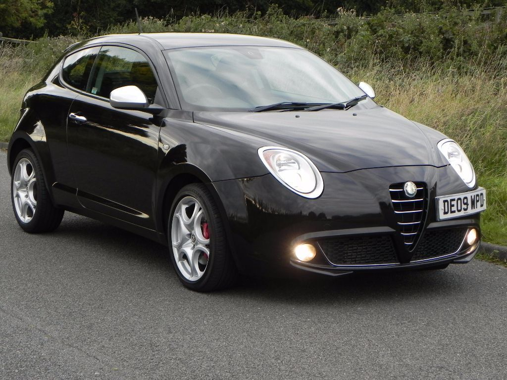 2009 alfa romeo mito 1 4 tb veloce etna black fsh cambelt new mot in markfield. Black Bedroom Furniture Sets. Home Design Ideas
