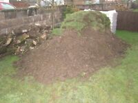 Free Top Soil - unscreened, also Turf & Rubble available