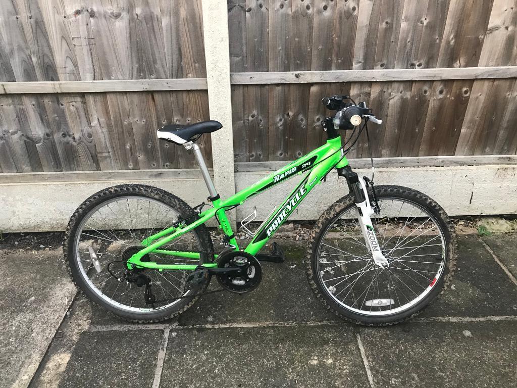 Boys 24 inch mountain bike