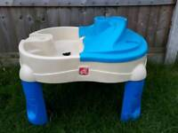 Step2 water/sand table
