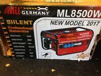 Mobile petrol generator ML8500W - new unused