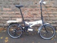 NEW Dawes KINGPIN 2016 Folding Bike - Aluminium Frame - RRP £499