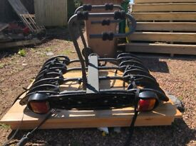 Tow Ball mounted Exodus 4 Cycle Carrier