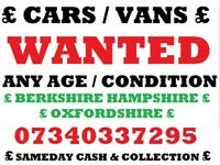 we buy all scrap non runners mot failure no keys no log book no mot cars vans trucks cash buyer'