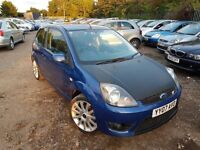 Ford Fiesta 2.0 ST 3dr,FULL SERVICE HISTORY, PART LEATHER INTERIOR, TOP SPEC, ALLOY WHEELS, LONG MOT