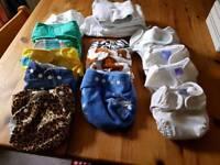 Washable nappies bundle