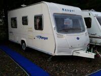 2007 Bailey Ranger 460 4 Berth Fixed Bed Lightweight Caravan MAX Laden Just 1184Kgs