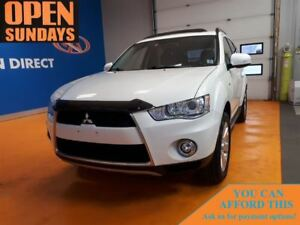 2012 Mitsubishi Outlander XLS S-AWC LEATHER! 7 PASS! SUNROOF!