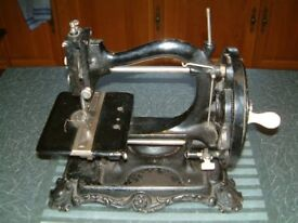 Wanzer ( believe to be model A ) Sewing Machine goes back to the 19th century a part of history