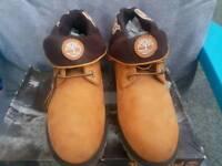 Timberland tan boots 9 1/2