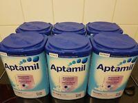Aptamil Hungry milk x 6
