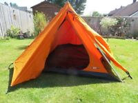 Force Ten MK3 Tent, as new. 2 self infating mats. Campbed. First to see will buy.