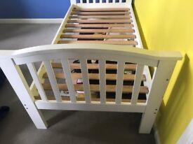 White Girls Bed Frame