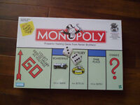 Brand new Monopoly and Risk strategy board games. Unopened and shrink wrapped.