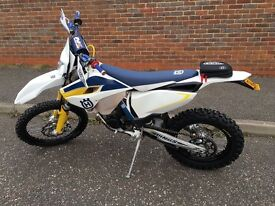 Husqvarna te 125 2015 65 plate learner leagle swap for bigger enduro bike