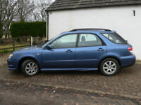 Subaru Impreza Wagon R . 2007, Manual gear box, Petrol, Blue, 94000 miles V.G.C. 1500cc. FSH