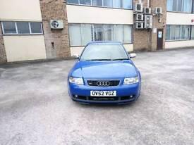 2003 Audi S3 Nogaro Blue