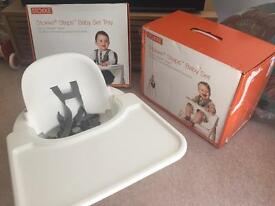 Stokke Steps babyset and tray for highchair