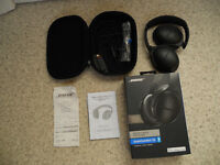 BOSE NOISE CANCELLING HEAD PHONES-SPECIAL EDITION-STILL UNDER WARRANTY!!!