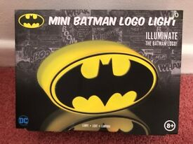 Brand New - Mini Batman Logo Light