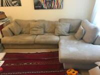 Corner Sofa 3 seater Next Beige Brown