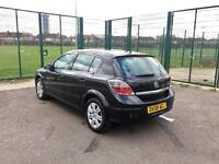 2008 VAUXHALL ASTRA 1.8 DESIGN AUTOMATIC – BLACK, MOT & TAXED